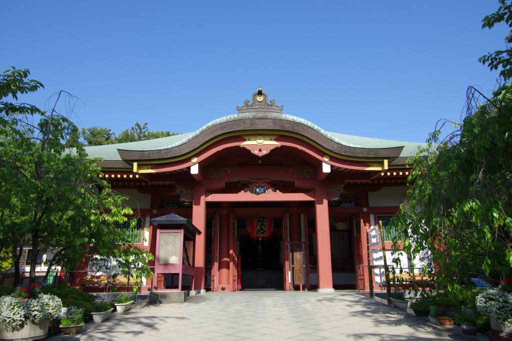 本堂(戒壇めぐり)